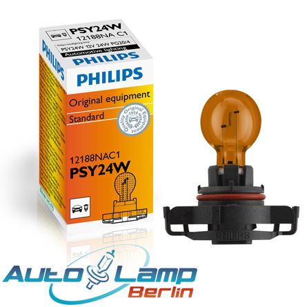 Gelbe lampe im auto