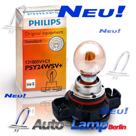 philips psy24w silver vision silvervision gelbe chrom blinker lampe 2st 12180sv ebay. Black Bedroom Furniture Sets. Home Design Ideas