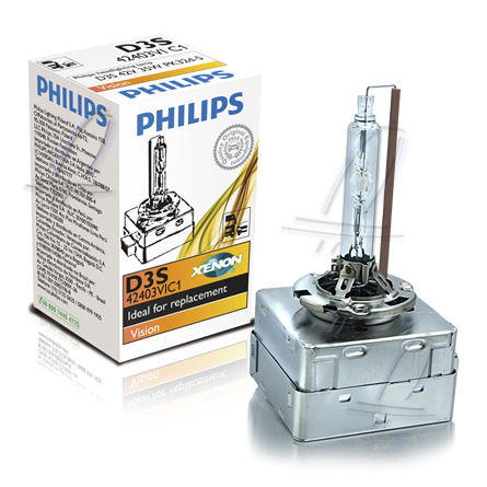 philips d3s vision xenon brenner 4600k ideal for. Black Bedroom Furniture Sets. Home Design Ideas