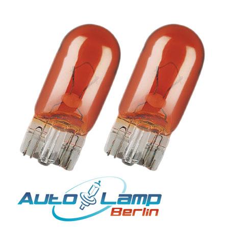 osram wy5w 12v 5w lamp 2 st ck blinkerlampe seitenblinker. Black Bedroom Furniture Sets. Home Design Ideas