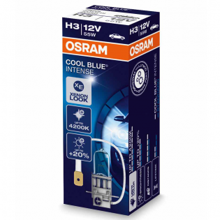 H3 12V 55W PK22s Cool Blue INTENSE 1st. Osram