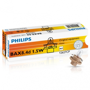 BAX BX8.4d 1.5W 12V Beige 10st. Philips 12627CP