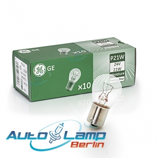 P21W 24V 21W BA15s Heavy Star 10st. GE 1060HDL