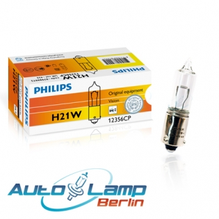 H21W 12V 21W BAY9s Vision 1st. Philips 12356CP